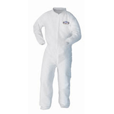 KIMBERLY-CLARK PROFESSIONAL* KLEENGUARD* A10 Elastic Back and Cuff Coveralls