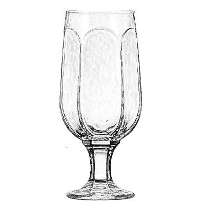 Libbey Chivalry Pedestal Glasses