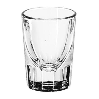 Libbey Whiskey Service Fluted Glasses