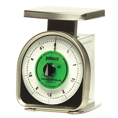 Rubbermaid Commercial Pelouze Y-Line Mechanical Portion-Control Scale
