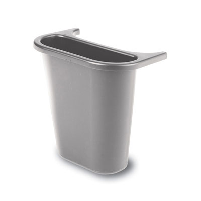 Rubbermaid Commercial Saddle Basket Recycling Bin