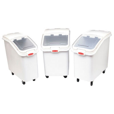 Rubbermaid Commercial ProSave Mobile Ingredient Bin