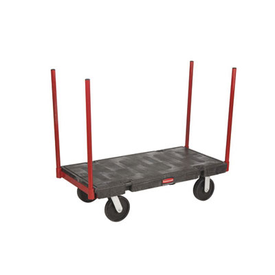 Rubbermaid Commercial Stanchion Platform Truck