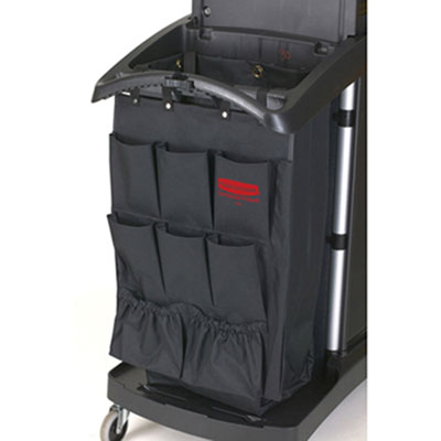 Rubbermaid Commercial Fabric 9-Pocket Cart Organizer