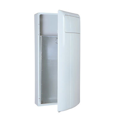 Rubbermaid Commercial Wall-Mounted Receptacle
