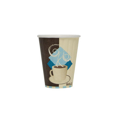 SOLO Cup Company Duo Shield Insulated Paper Hot Cups
