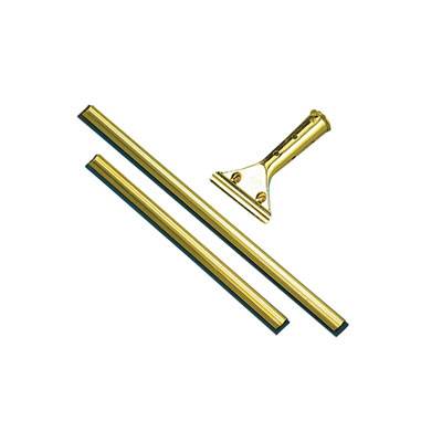 Unger Golden Clip Window Pro Brass Squeegee Handle