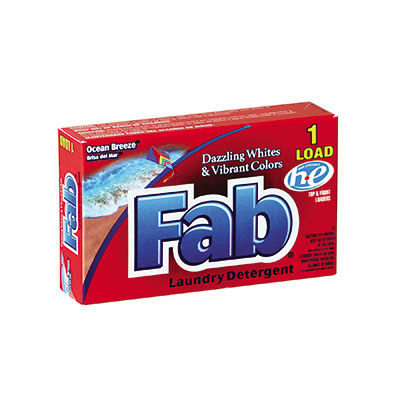 Fab Dispenser-Design HE Laundry Detergent Powder