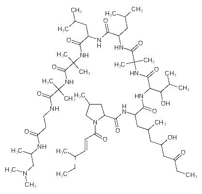 .β.<em>-Alaninamide</em>, cis-4-methyl-1-(4-methyl-1-oxo-2-hexenyl)- L-prolyl-(4S,6S