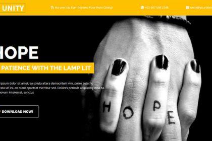 Trust, NGO Landing Page