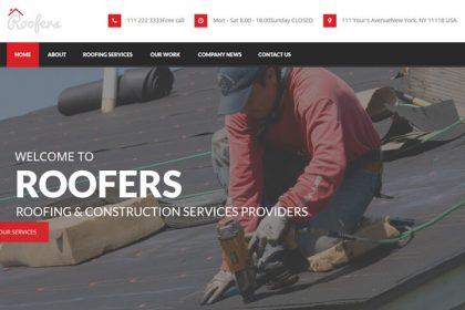Roof Care WordPress Theme