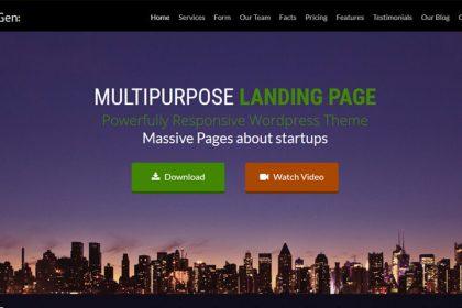 LeadGen WordPress Landing Page