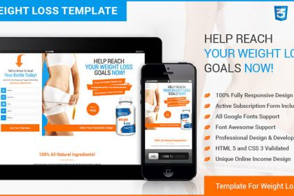 Weight Loss Squeeze Page