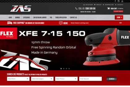 ZAS Online Car Products Store
