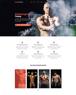 Fitness Squeeze Page