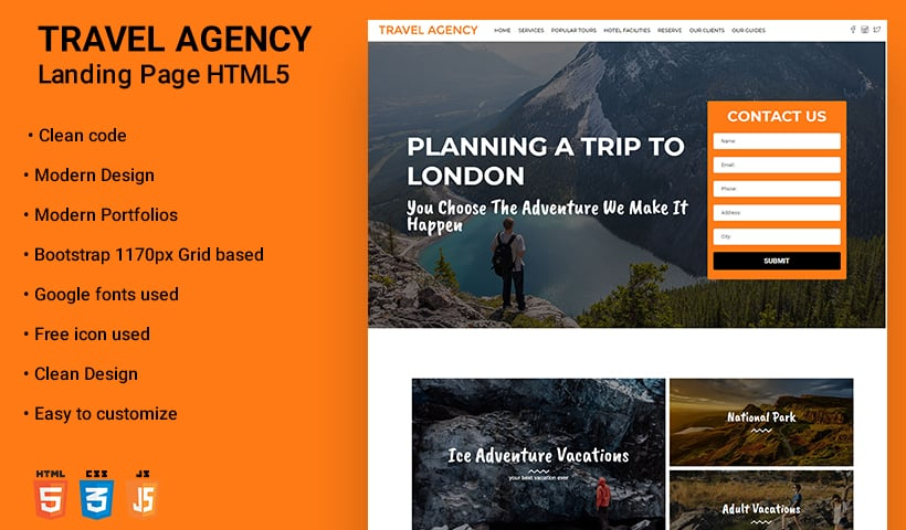 Travel Tour WP Theme