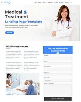 Medical WP Landing Page