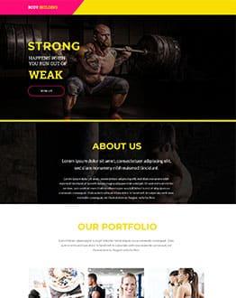 Bodybuilding V4 Template