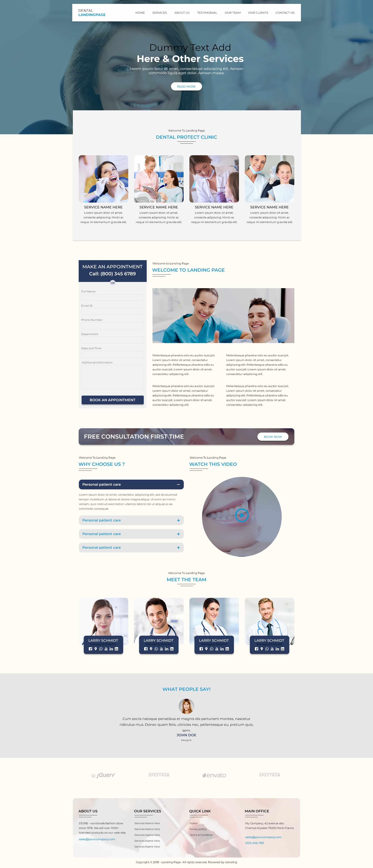 Dental V2 WP Template