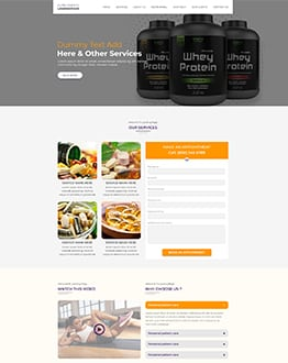 Supplements WP Theme