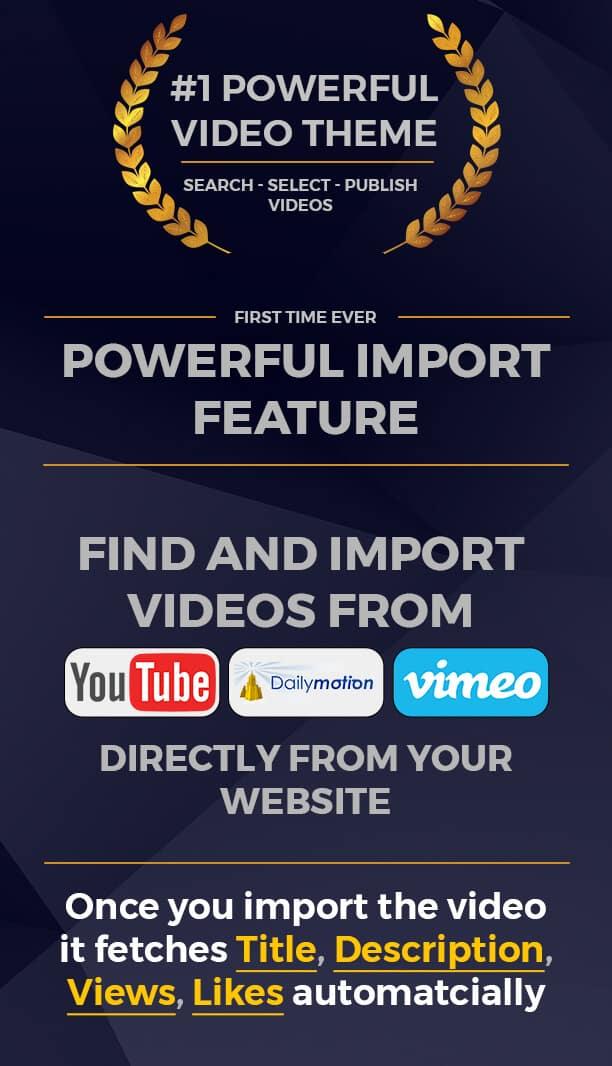 MyTube - Video WordPress Theme Website Template For Youtube