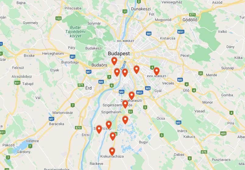 Olcsó autómentés Budapesten és vonzáskörzetében, 30 percen belül