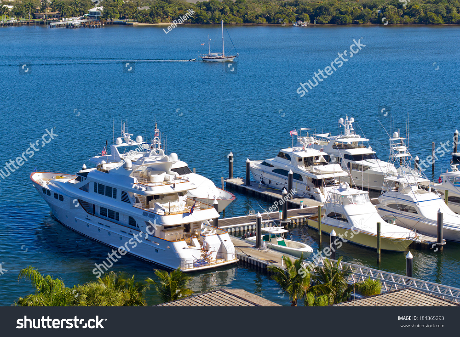 Stock photo yachts at west palm beach florida 184365293