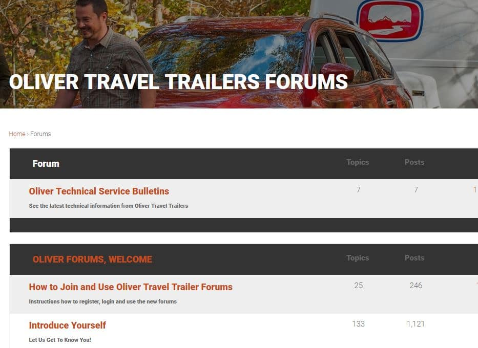 new oliver travel trailers forums