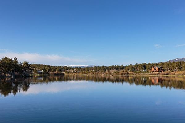 Lake Shagwa - Red Feather Lakes Colorado