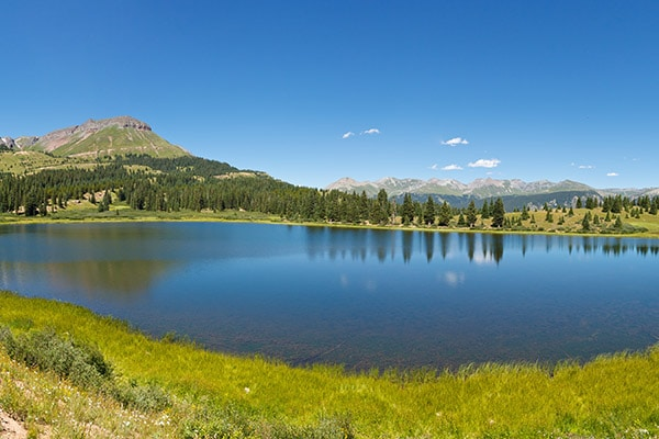 Little Molas Lake Colorado