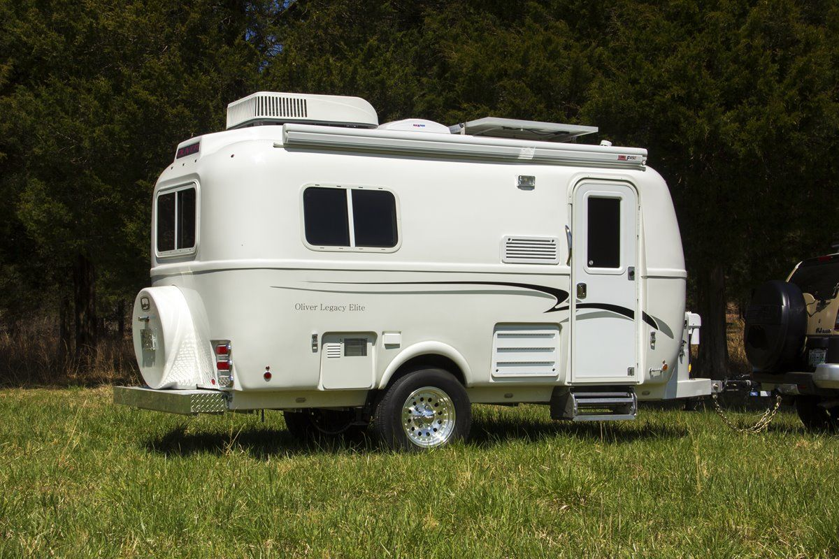 oliver travel trailers legacy elite 1 towing