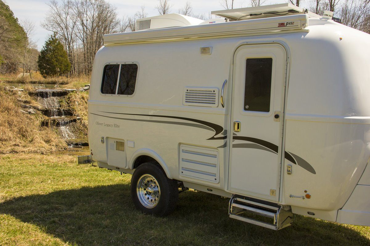 oliver travel trailers legacy elite 1 view with creek