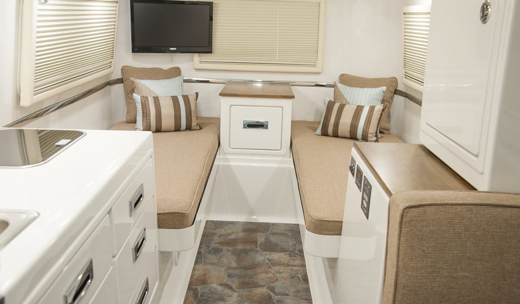 oliver travel trailers legacy elite 2 twin bed floor plans with standard fiberglass countertops and wood accents