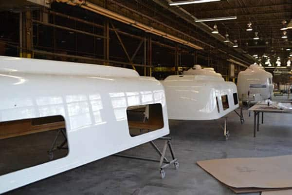 oliver travel trailers aerodynamic design benefits