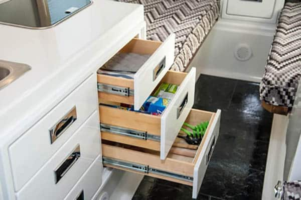 oliver travel trailers storage cabinets design benefits