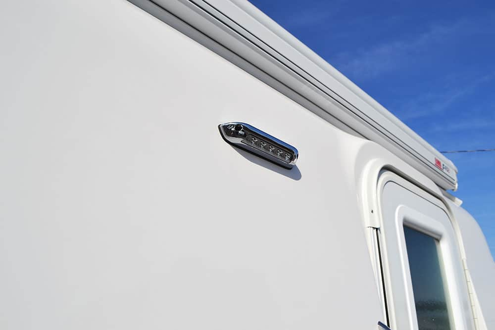 oliver travel trailers standard features exterior porch led light