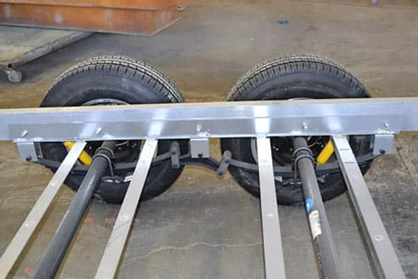oliver travel trailers marine grade aluminum chassis frame design benefits