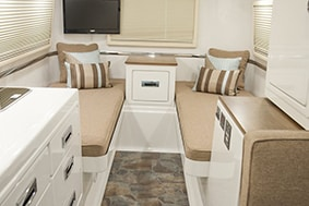 oliver travel trailers legacy elite 2 twin bed floor plan
