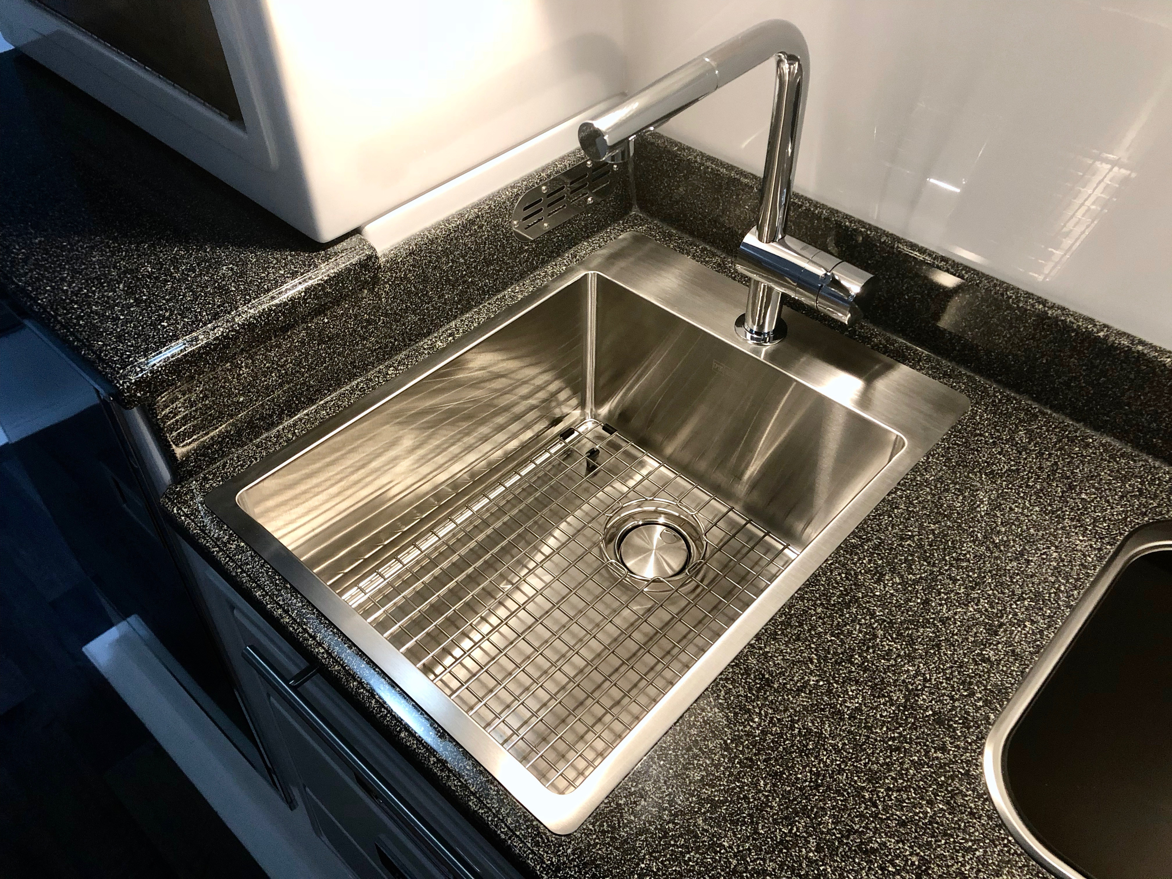 New Sink!   Oliver Travel Trailers