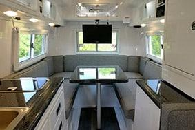 camping trailer standard floor plans