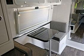 camper standard dinette floor plans