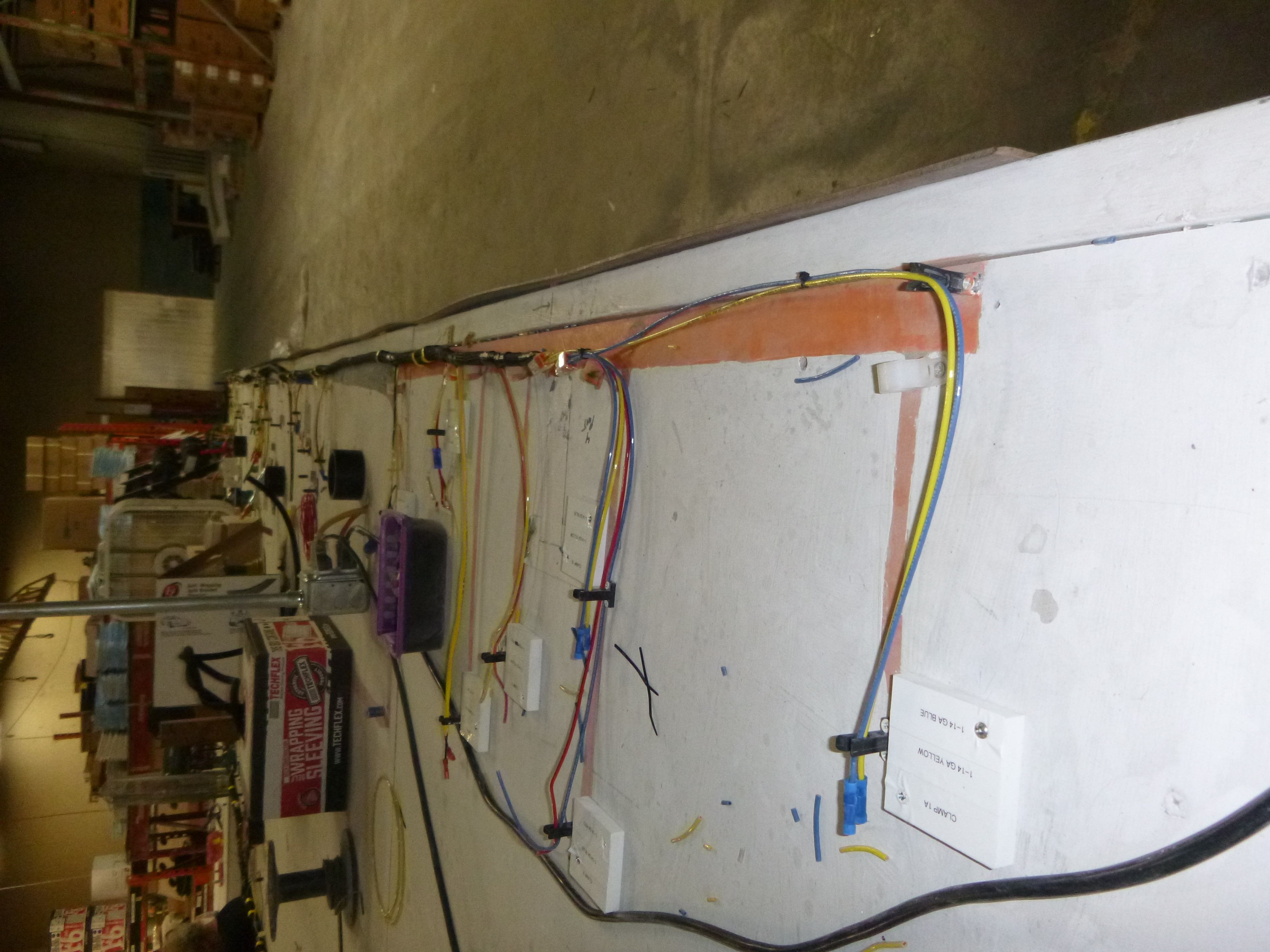 Oliver Production Line And Tour Part 1 Travel Trailers Wiring Harness Table P1010896
