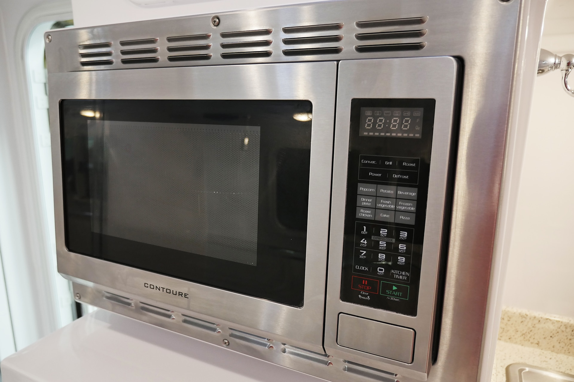 Convection Oven Oliver Travel Trailers