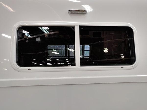 double pane window 4 season travel trailer rv