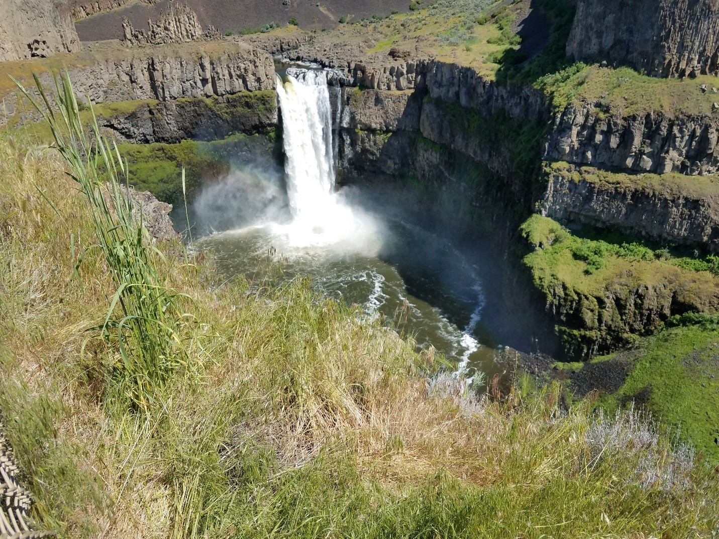 Palouse River Canyon and the Palouse Falls