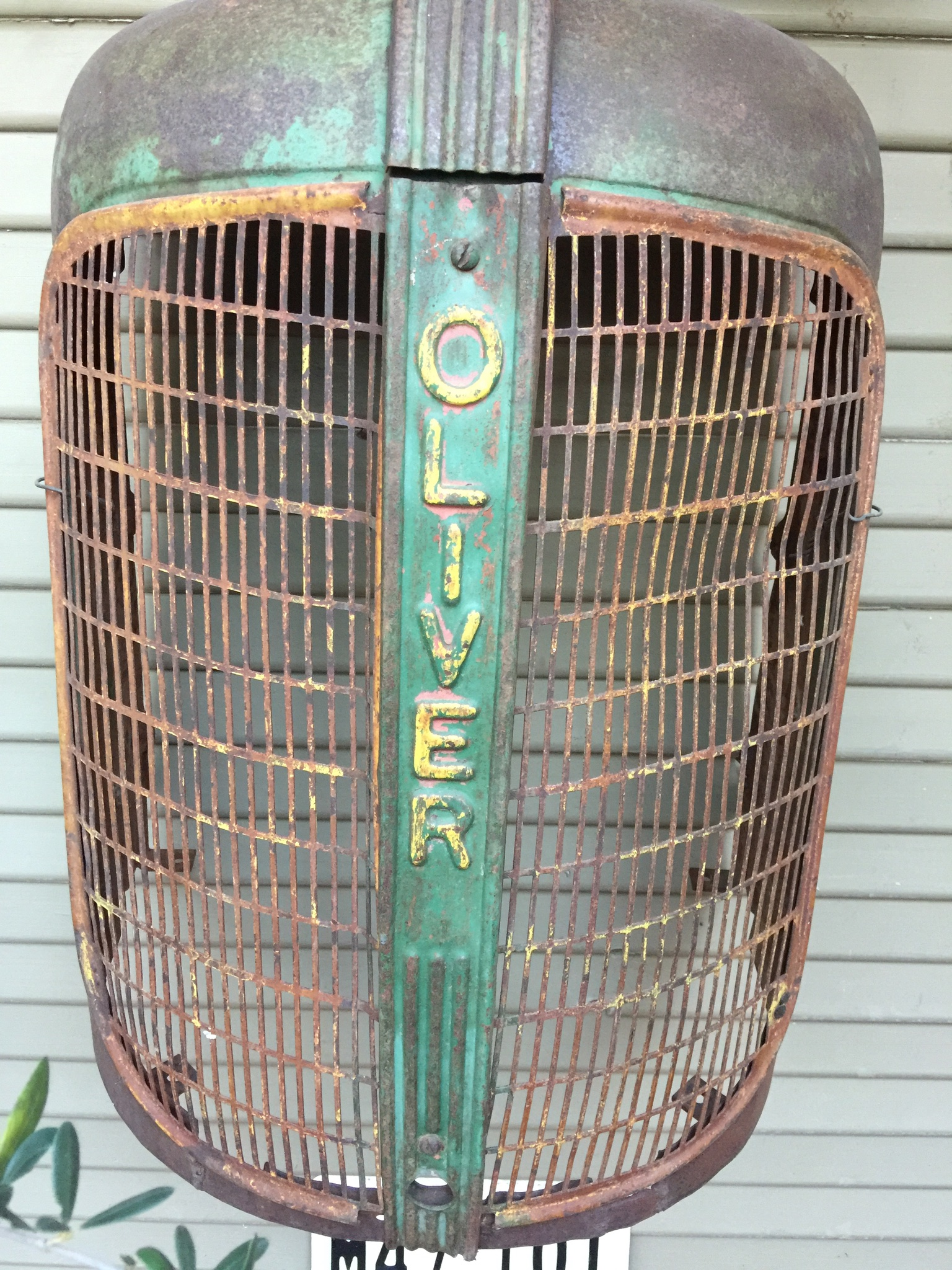 Oliver Tractor grill | Oliver Travel Trailers
