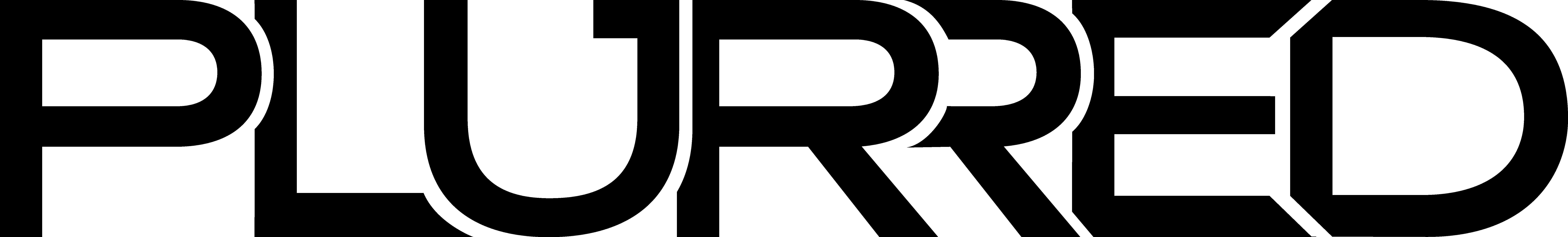 PLURRED's logo