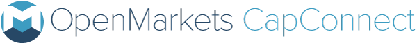 Openmarkets Cap Connect logo