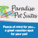 Website for Paradise Pet Suites