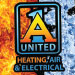 Website for A-1 United Heating, Air & Electrical Co., Inc.